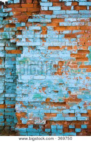 Distressed Brick Wall 5