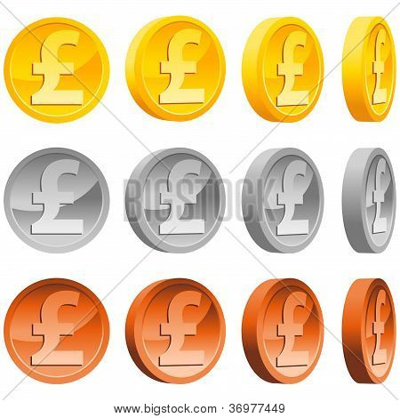 Dollar Pound Coins