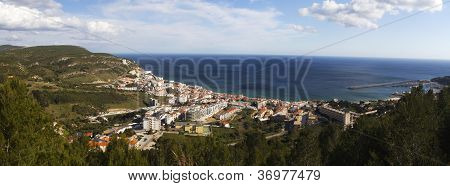 Coastal Sesimbra Town