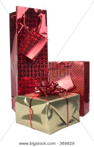Red And Gold Gifts