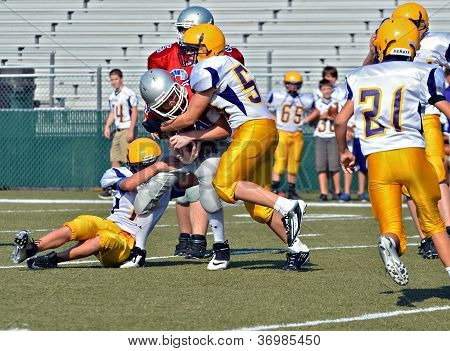 Youth Football Tackling
