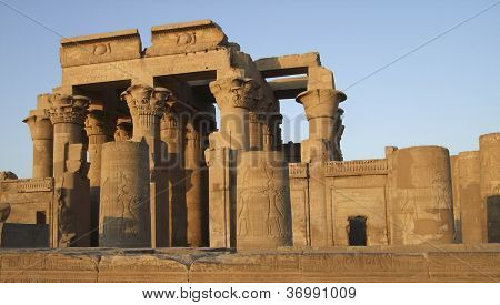 Kom Ombo Temple Detail