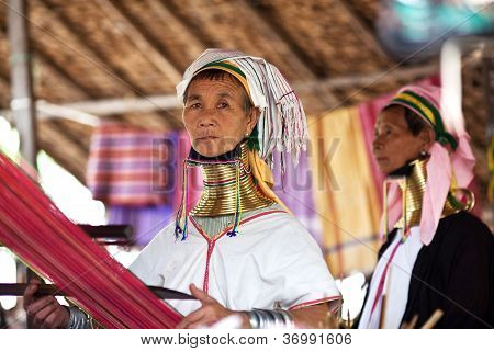 Padaung Tribe woman, Burma
