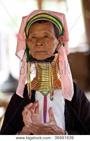 Padaung tribe woman, Myanmar