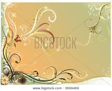 Vector Floral Pastels.Eps