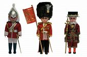 stock photo of beefeater  - Photo of British dolls  - JPG