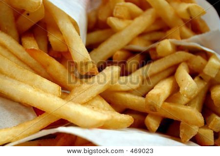 Closeup Fries