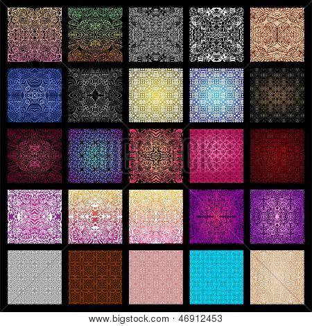 Gran colección de patrones sin fisuras