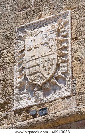Porta Lecce. Brindisi. Puglia. Italy.