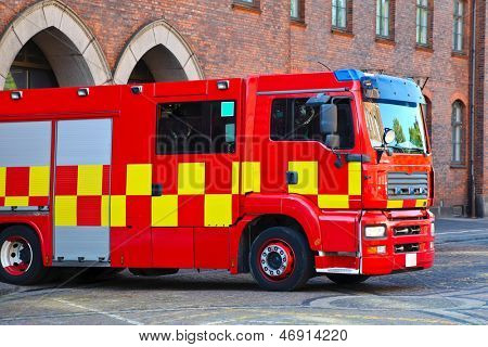 Dutch Fire Truck