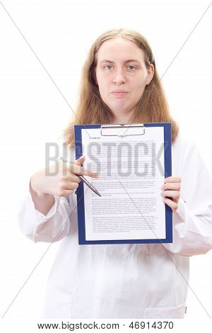 You Have To Sign This Agreement For Your Surgery
