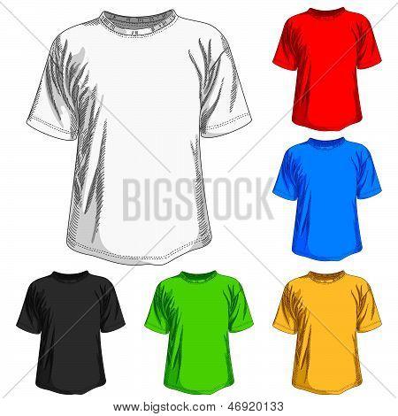 set of shirts