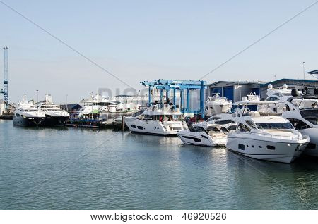 Sunseeker Boatyard, Poole