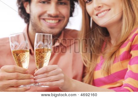 Couple And Drink
