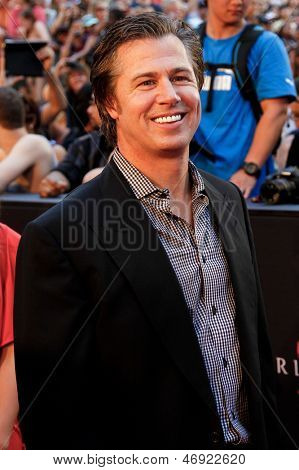 NEW YORK-JUNE 17: Doug Pitt attends the premiere of