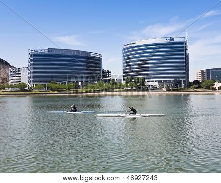 A Hayden Ferry Lakeside Kayak Race, Tempe