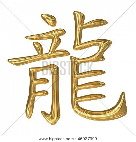 horoscope: golden sign of oriental (chinese) zodiac - dragon