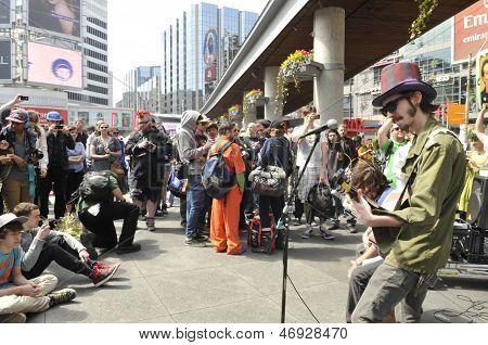 Marijuana Rally.