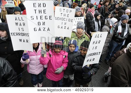 Anti Israel Rally.
