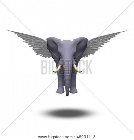 Winged Elephant