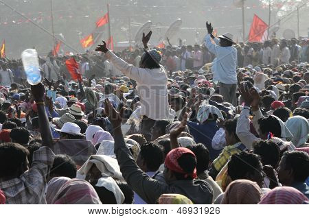 Marxist Rally in Kolkata.