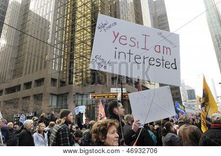 Occupy movement .
