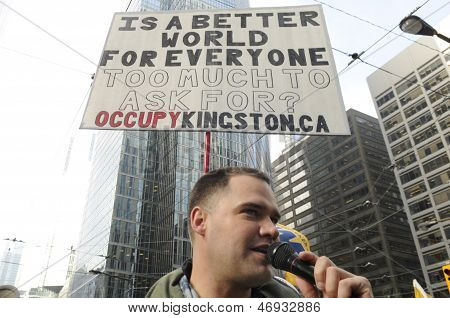 Occupy Movement.