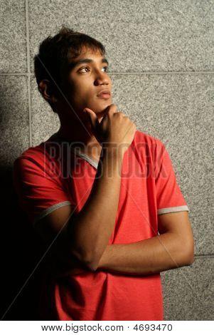 Asian Urban Teen In Ponderance