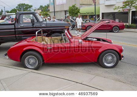 1988 Red Sebring Roadster Car
