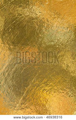 Sheet Of Gold Foil