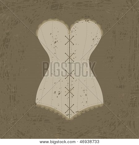 Corset With Lacing