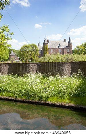 Castle Zuylen In Spring