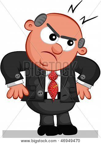 Boss Man Angry