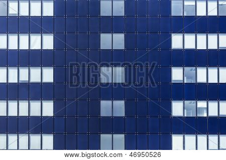 Glass Facade Of Windows