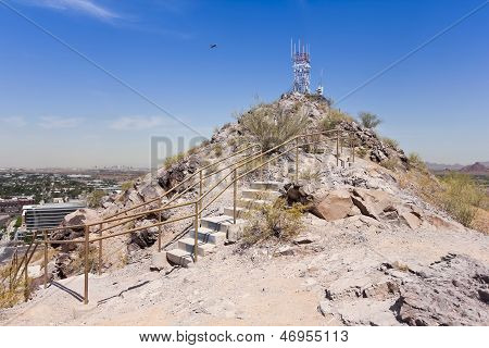 A Summit Shot Of Tempe Butte, Tempe