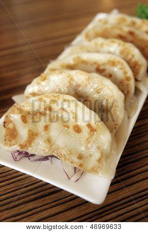 Potstickers Or Jiaozi (chinese Dumplings)