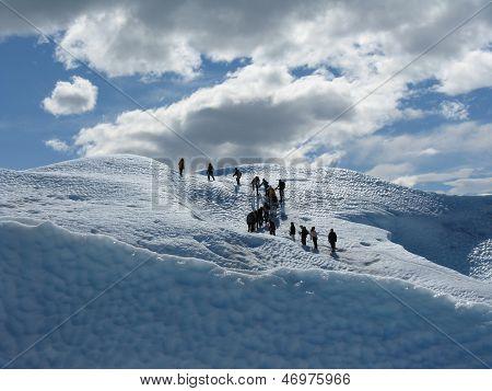 Climbing The Perito Moreno Glacier