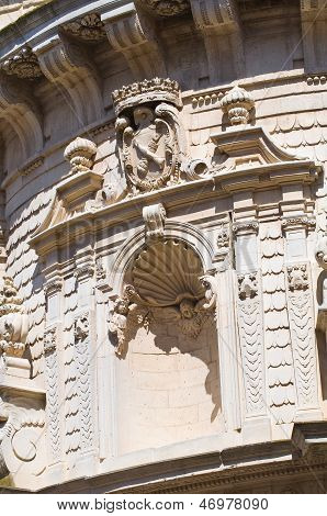 Church of St. Matteo. Lecce. Puglia. Italy.