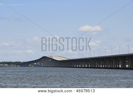 Highway Bridge Over Water
