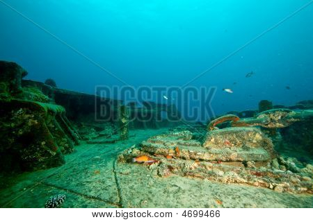 Bow Side Of The Thistlegorm