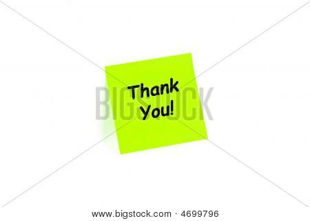 Thank You! On A