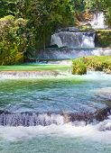 Jamaica. Dunn's River waterfalls
