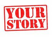 Постер, плакат: Ваша история