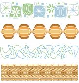 picture of tiki  - A variety of retro patterns from the 50s and 60s - JPG