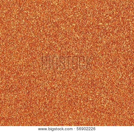 Copper Glitter Background