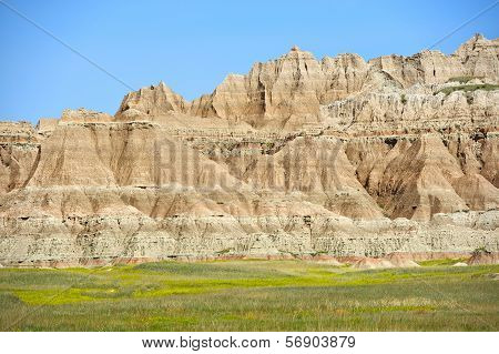 Badlands Scenic Formation