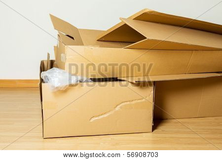 Wasted Carton box