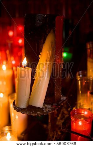Candles In The Monserrat Abby