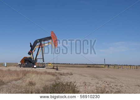 Oil Well in North Dakota