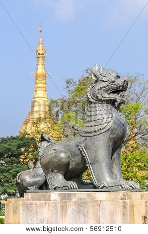 Myanmar Symbol Of Sule Pagoda